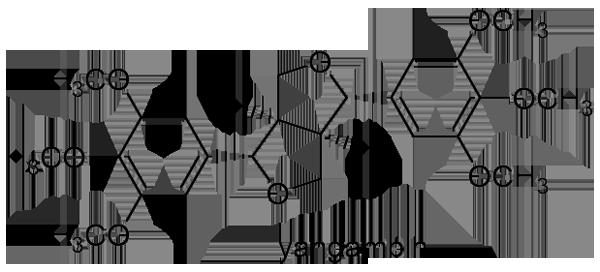 オオアブラギリ 化学構造式2