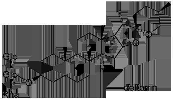 オオバジャノヒゲ 化学構造式2