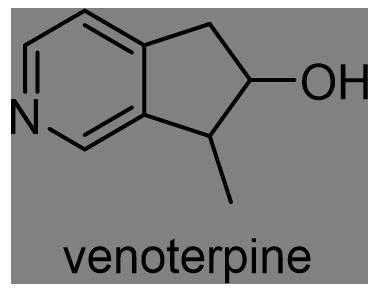 カンレンボク 化学構造式2