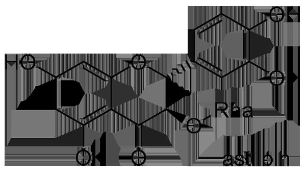 キンシバイ 化学構造式2