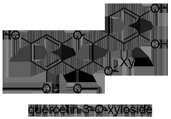 コウシンバラ 化学構造式3