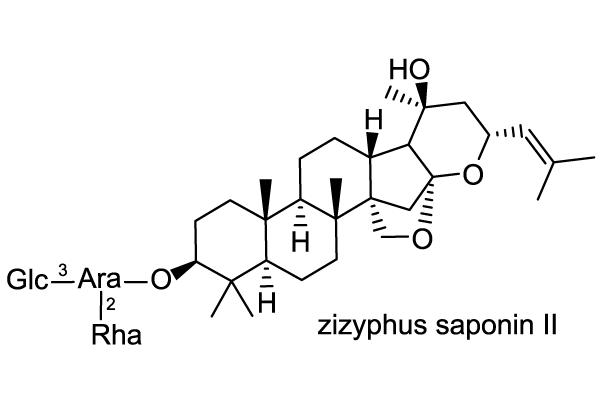 コヤブラン 化学構造式3