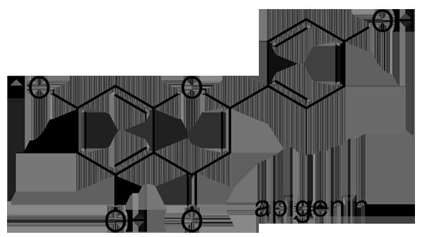 シャガ 化学構造式3