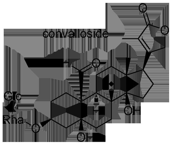 スズラン 化学構造式2