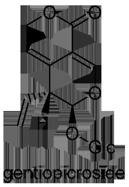 センブリ 化学構造式2