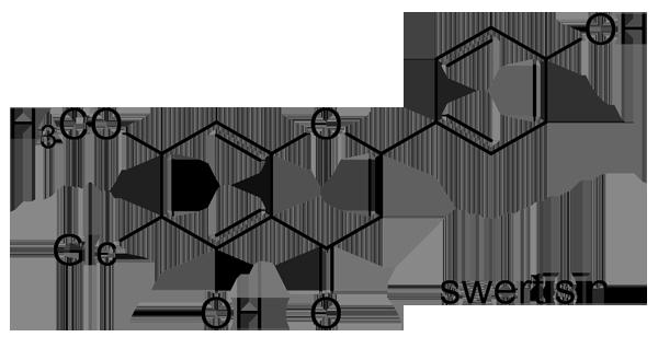 センブリ 化学構造式3