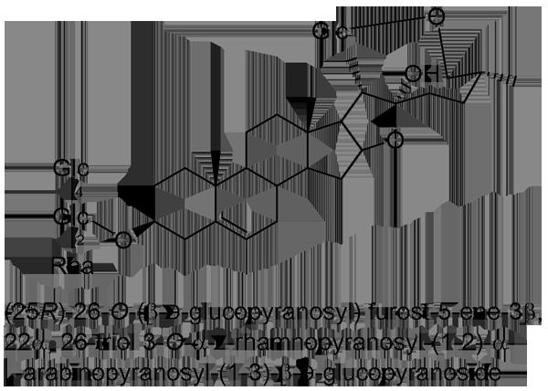 テッポウユリ 化学構造式3