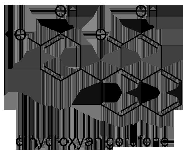 バショウ 化学構造式3