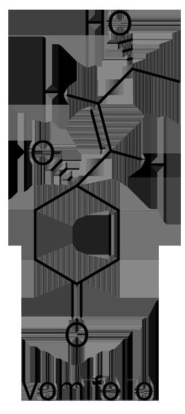 ハマクサギ 化学構造式2
