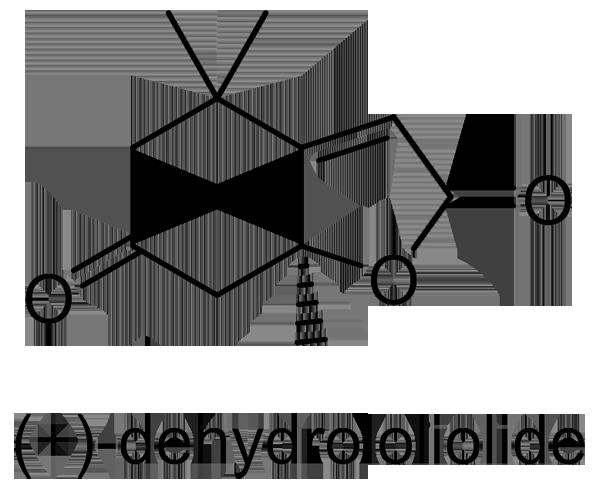 ハマクサギ 化学構造式3