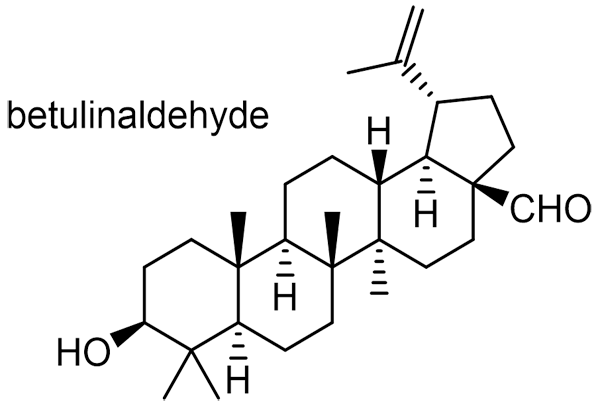 ハマナツメ 化学構造式3