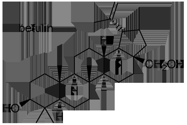 ヒツジグサ 化学構造式3