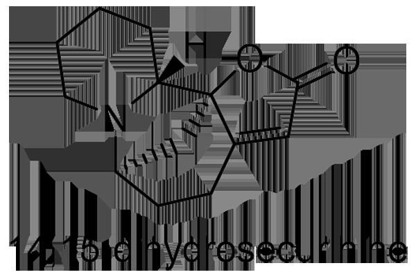 ヒトツバハギ 化学構造式2