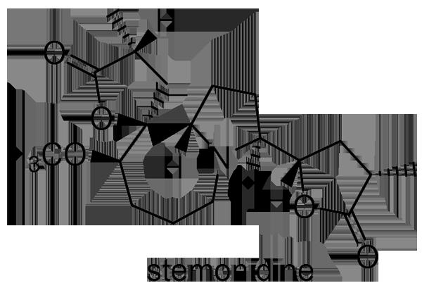 ビャクブ 化学構造式2