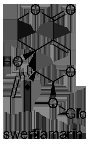 リンドウ 化学構造式2