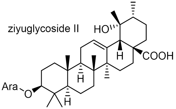 ワレモコウ 化学構造式2