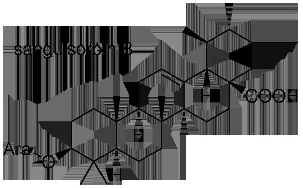 ワレモコウ 化学構造式3
