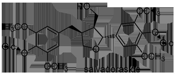 クレマチス・アルマンディー 化学構造式3