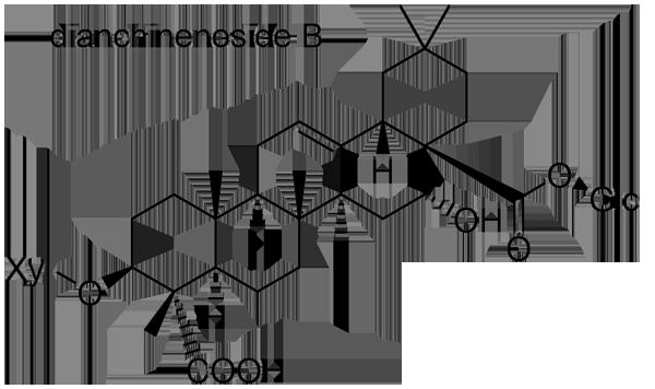 セキチク 化学構造式2