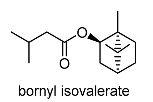 カノコソウ 化学構造式1