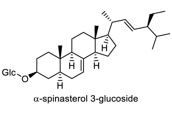 ネムノキ 化学構造式1
