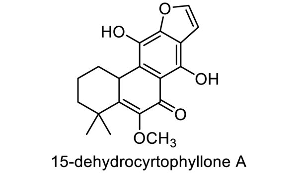 ボタンクサギ 化学構造式1