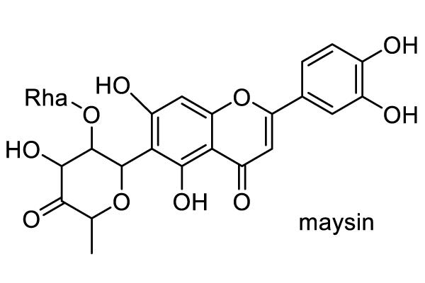トウモロコシ 化学構造式1