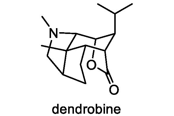 セッコク 化学構造式1