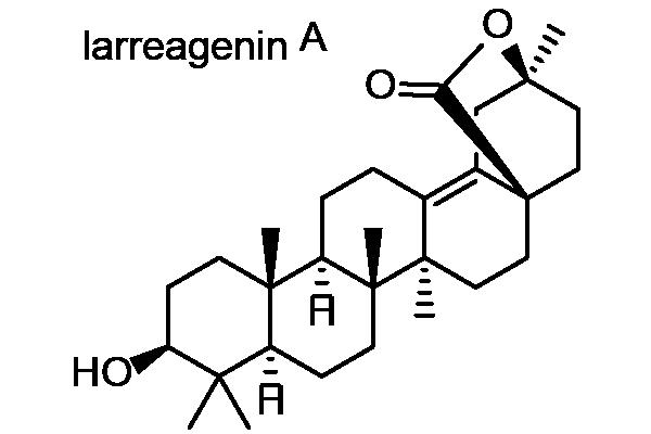 アカザカズラ 化学構造式1