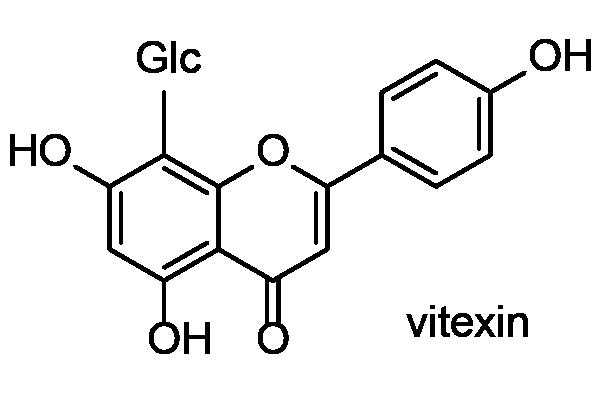 アカザカズラ 化学構造式2