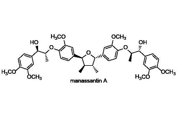 アメリカハンゲショウ 化学構造式1
