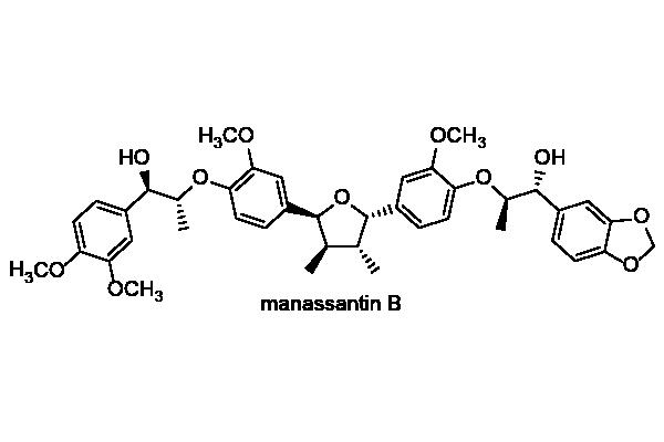 アメリカハンゲショウ 化学構造式2