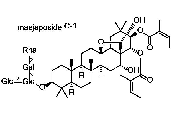 イズセンリョウ 化学構造式3