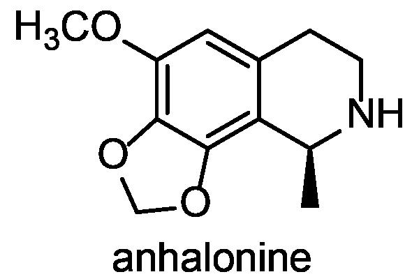 ウバタマ 化学構造式3