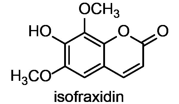 エゾウコギ 化学構造式2