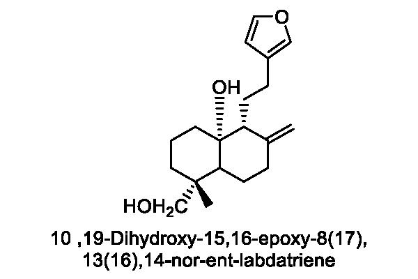 オヒルムシロ 化学構造式3