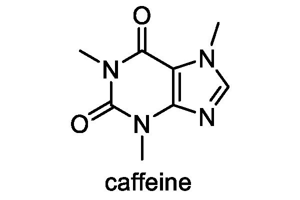 コーヒーノキ 化学構造式1