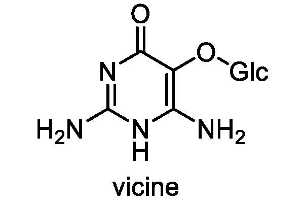 ソラマメ 化学構造式1