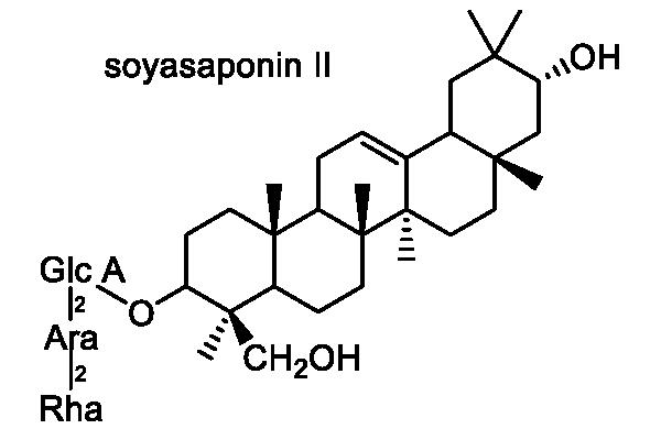 ダイズ 化学構造式2