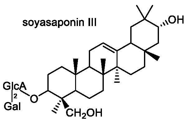 ダイズ 化学構造式3