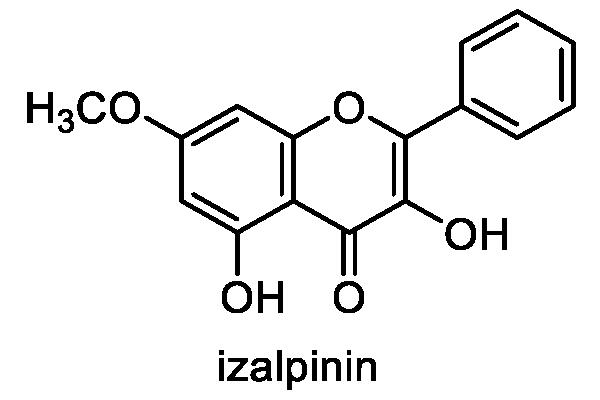ハナミョウガ 化学構造式1