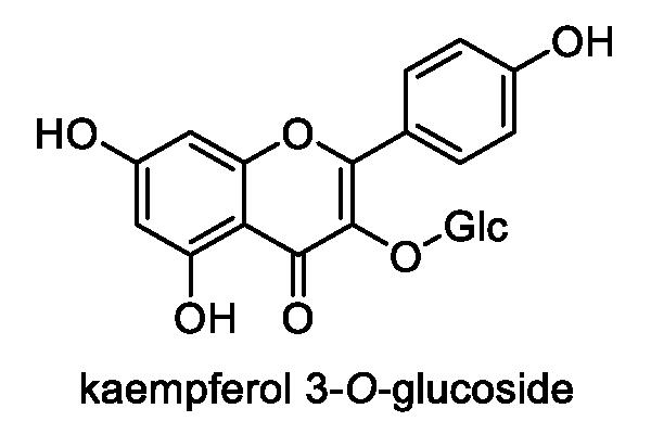 ヒナヒゴタイ 化学構造式1