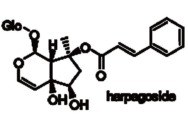 ビロードモウズイカ 化学構造式2