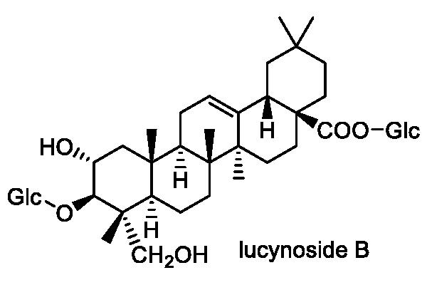 ヘチマ 化学構造式1