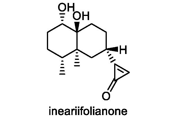 ホソバオグルマ 化学構造式1