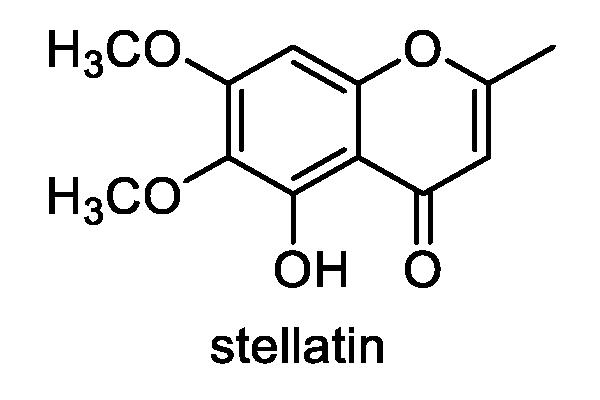 ミズネコノオ 化学構造式1
