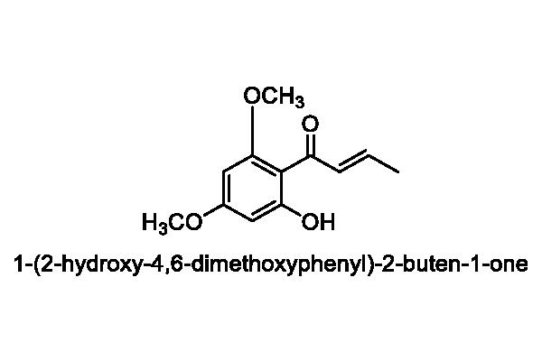ミズネコノオ 化学構造式3
