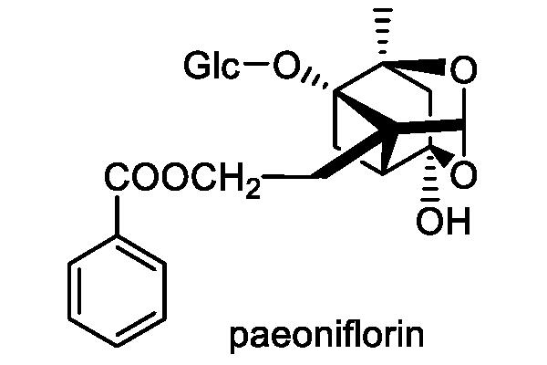 ヤマシャクヤク 化学構造式2