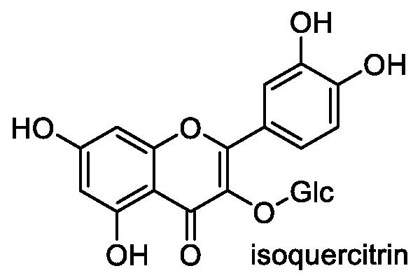 ヨメナ 化学構造式1