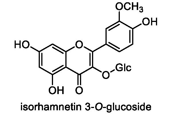 ヨメナ 化学構造式3